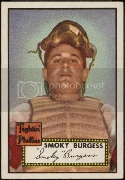 Card of the Day: Smoky Burgess 1952 Topps #357