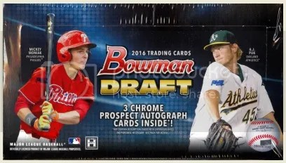 2016 Bowman Draft Baseball Jumbo Box Break & Review