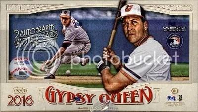 2016 Topps Gypsy Queen Baseball Box Break & Review