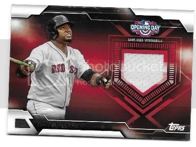 Big Papi '16 Topps Opening Day Jersey Contest Winner Announced