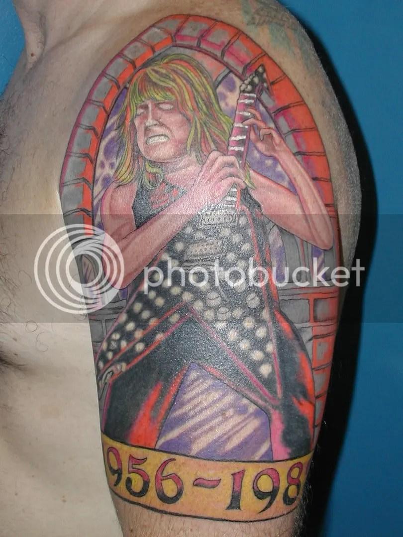 Tattoos By Randy : tattoos, randy, Www.randyrhoads.tk, Topic, Randy, Tattoos