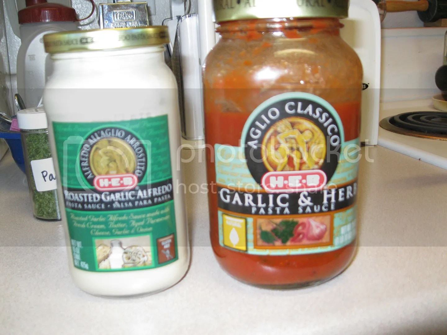 Sauces used for Parma Rosa