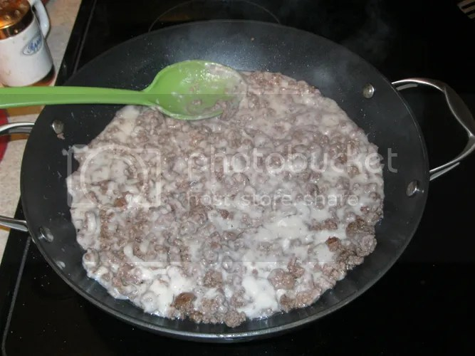 Ground Beef and Cream of Mushroom Soup