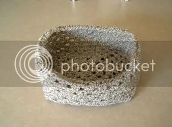 Granny Square Bowl pre felting