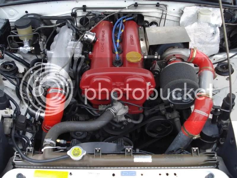 Mazda Mx5 Eunos Roadster Turbo Intercooler Greddy Hks Fm