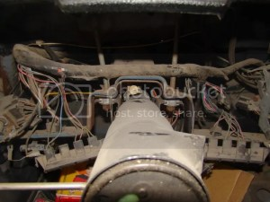 need a picture of 69 wire harness installed under dash