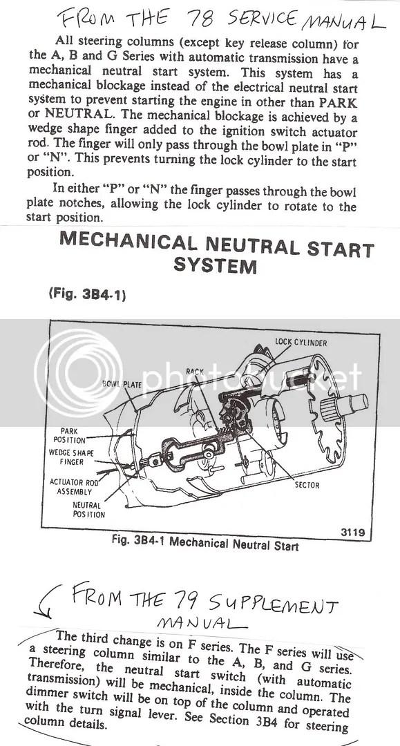 medium resolution of 1980 corvette neutral safety switch