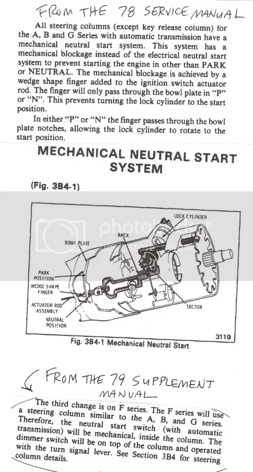 small resolution of 1980 corvette neutral safety switch