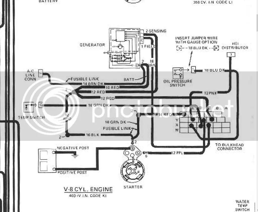 pontiac 400 1979 trans am wire diagram