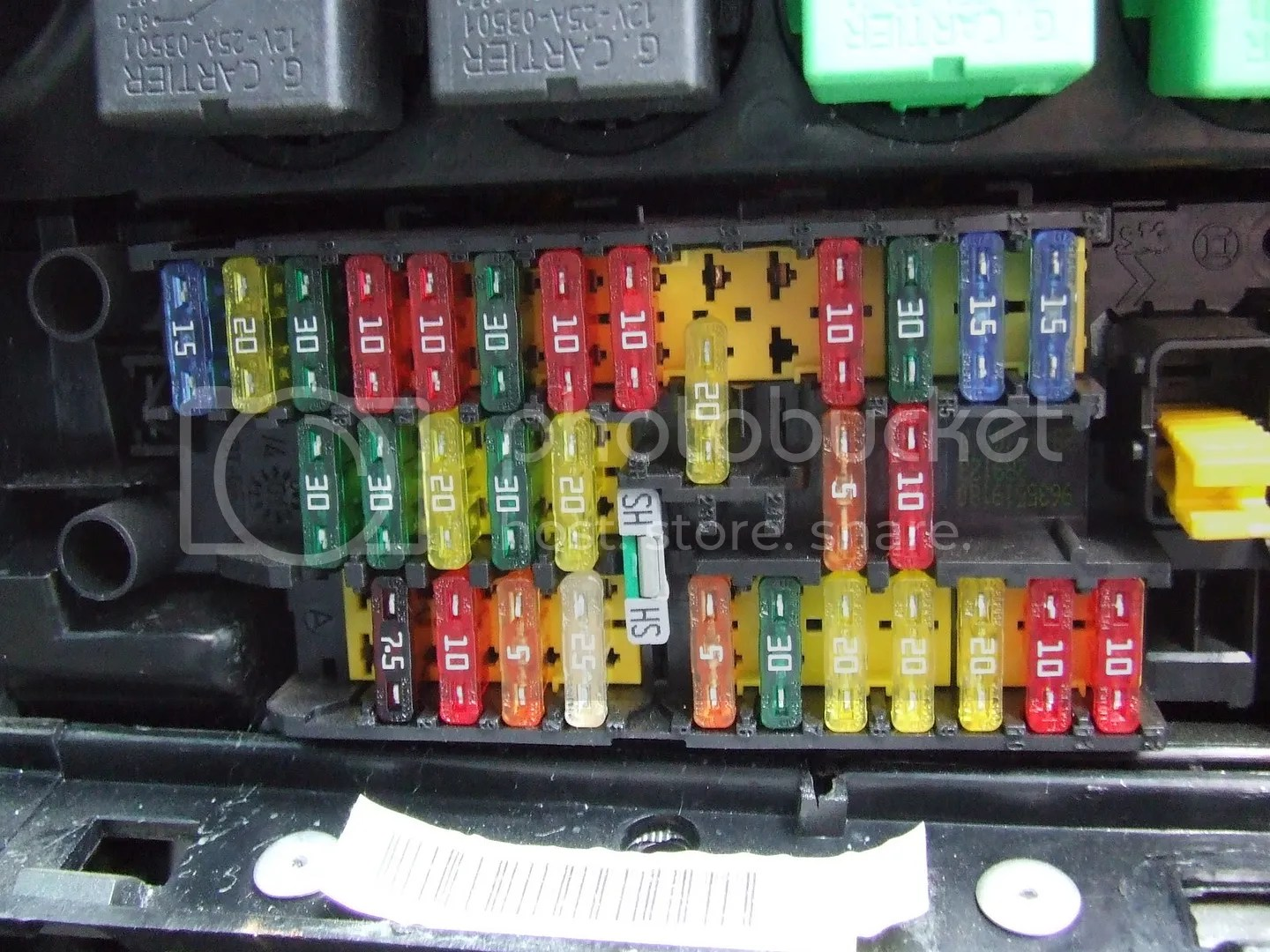 hight resolution of peugeot 406 fuse box layout hdi manual e book