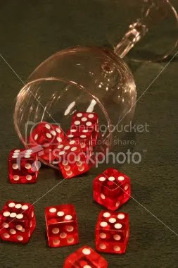We are both the dice and the hand that rolls the dice...