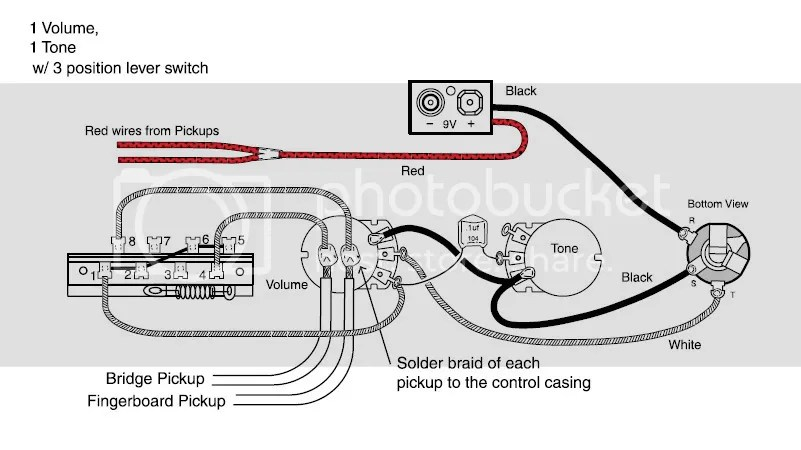 les paul junior wiring schematic
