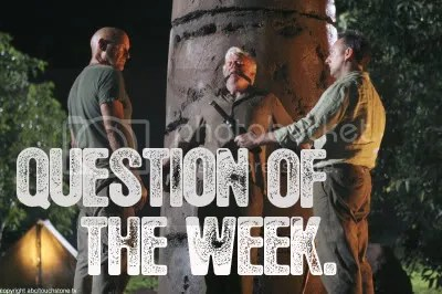 Question Of The Week.