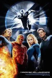 It's pretty apparent that the marketing team behind this flick realised that the Silver Surfer was the biggest draw.