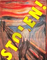Edvard Munch Famous The Scream Value Million Was Stolen
