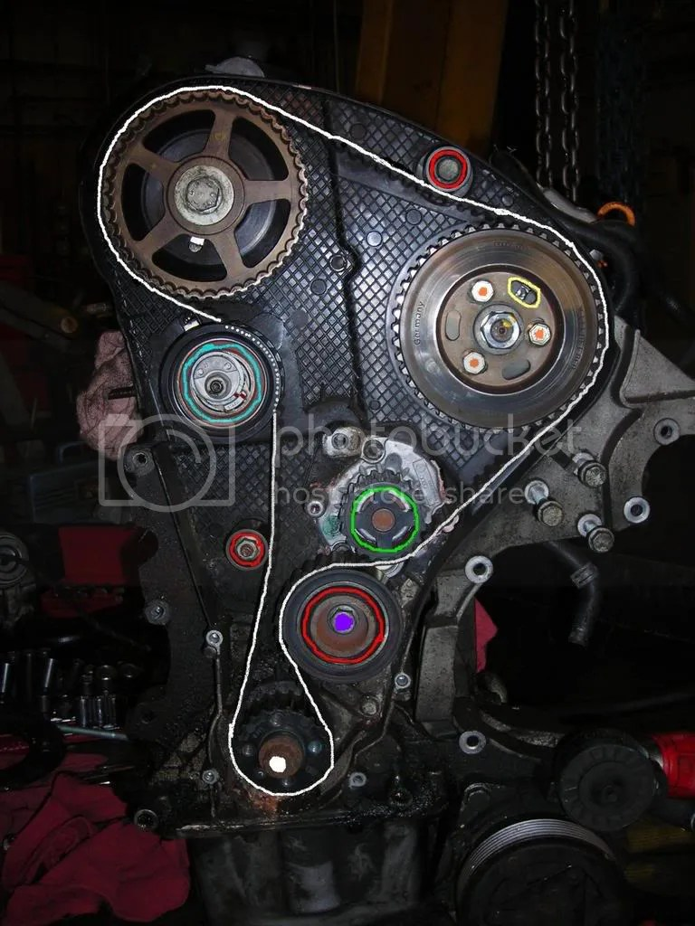 hight resolution of just finished changing my first tdi timing belt waterpump with homemade tools tdiclub forums