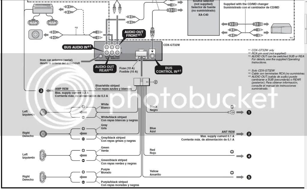 wiring diagram sony xplod 52wx4 2005 dodge ram 1500 car stereo cdx gt5 10 free for you u2022sony