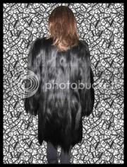 vintage long hair colobus vellerosus
