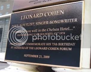 Leonard Cohen! I know right?