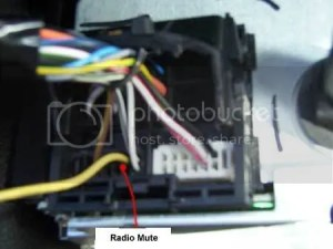 Ford 6000 CD Phone mute?  InCar Entertainment  SatNav