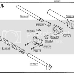 Sig Sauer 1911 Parts Diagram Fluorescent Light Replacement Lens Cover Fa Florida Airsoft Caspian Gbb Reassembly  In