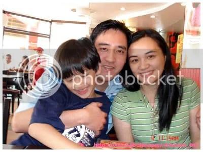 Miko, Kuya Mike and Ate Kris