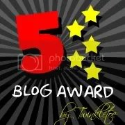 Five Star Blog Award