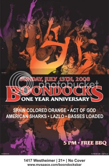 Boondocks first anniversary