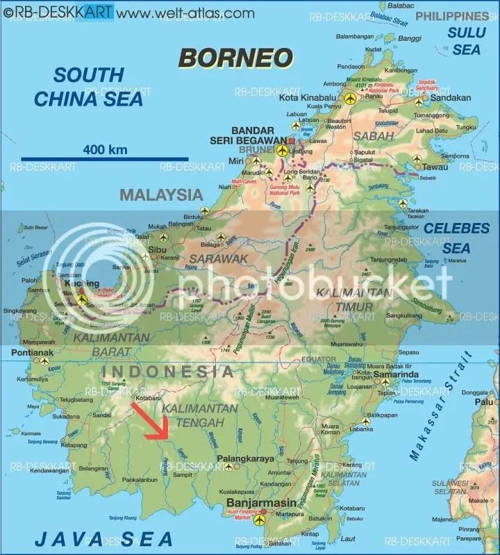 Kualakuayan map