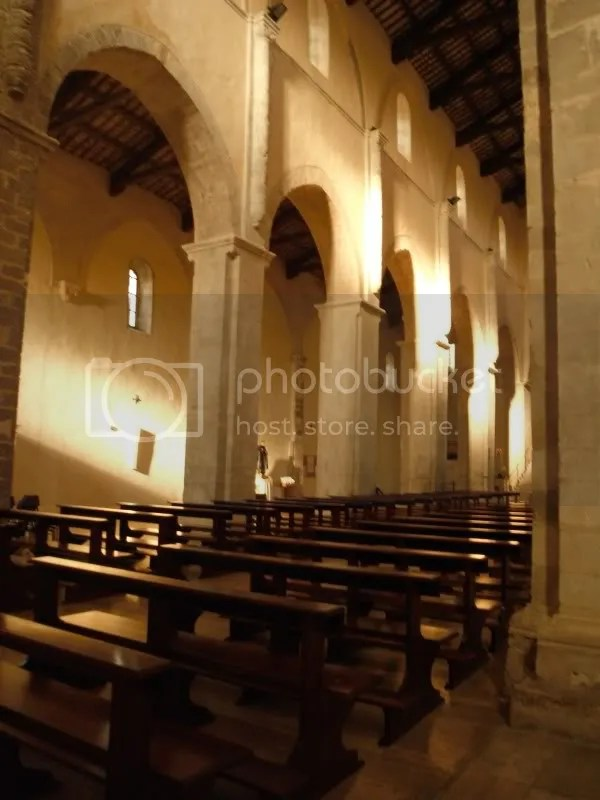 Interior of the Abbey of San Giovanni
