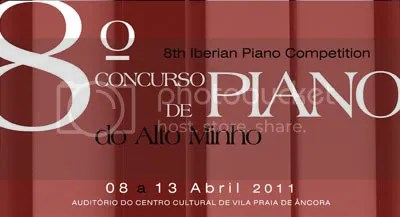 Concurso Ibérico de Piano do Alto Minho - 8 edição