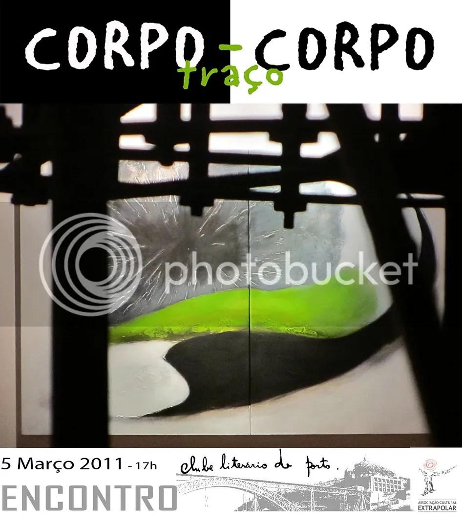 Alice Valente - Encontro CORPOtraçoCORPO no Clube Literário do Porto