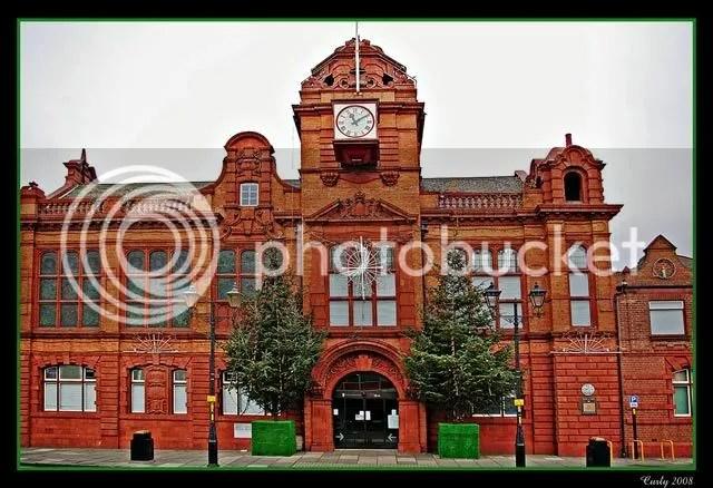 Jarrow Town Hall, near South Shields