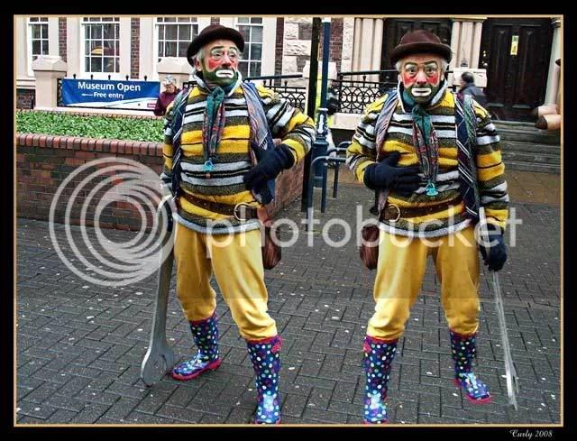 clown, King Street, South Shields