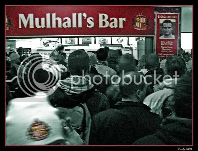 Mulhall's Bar, Sunderland Stadium of Light
