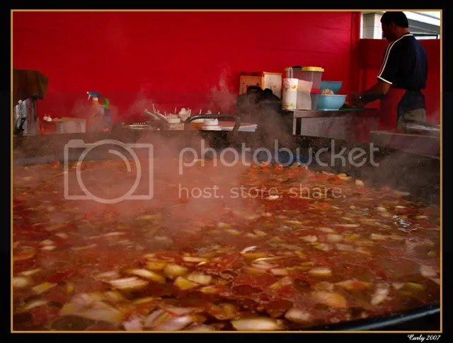 Paella, continental market, south shields