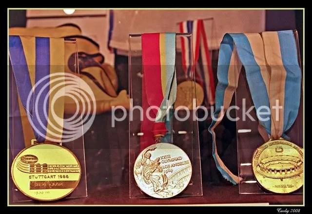 Steve Cram's medals