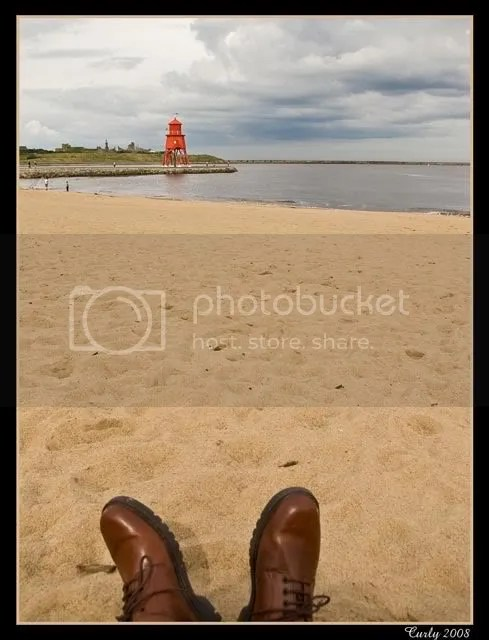 Littlehaven Beach and The Groyne, South Shields