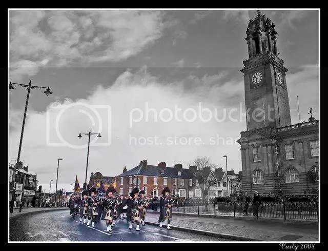 Remembrance Sunday parade, South Shields