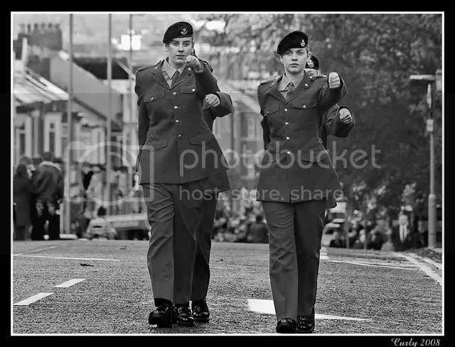 Remembrance Day Parade, South Shields
