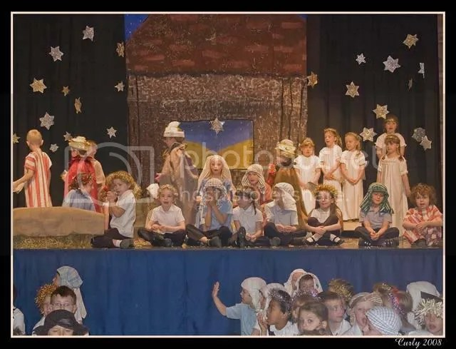 Nativity play, South Shields
