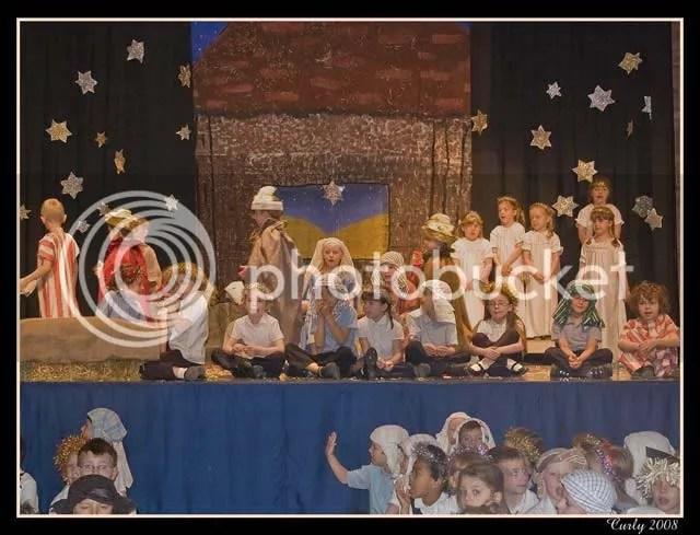 Nativity play, South Shields