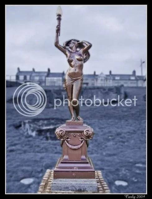 Naked lady, South Marine Park, South Shields
