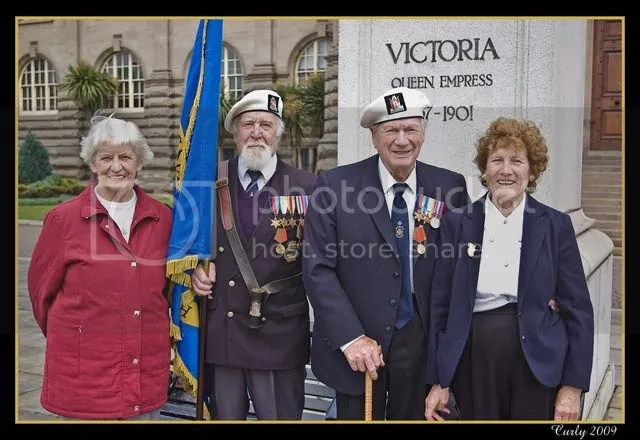 veterans of the Russian convoys in South Shields