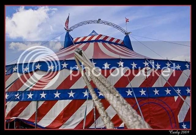 Circus big top, South Shields