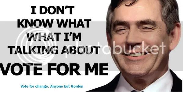 Gordon Brown Poster