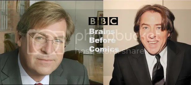 Ed Stourton and Jonathan Ross