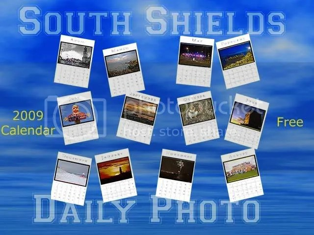 South Shields Daily Photo Calendar 2009
