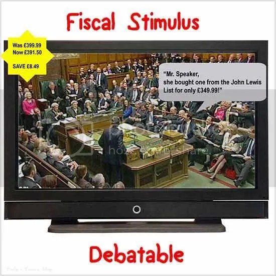 Fiscal stimulus, House of Commons