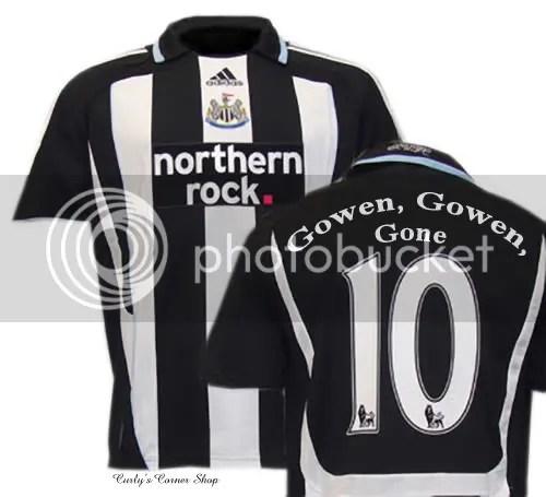 Michael Owen's shirt